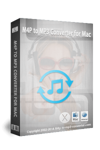 M4P to MP3 Converter BoxShot