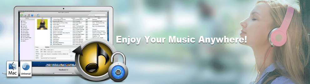 M4P to MP3 Converter Banner